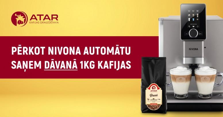 Nivona + 1kg kafijas