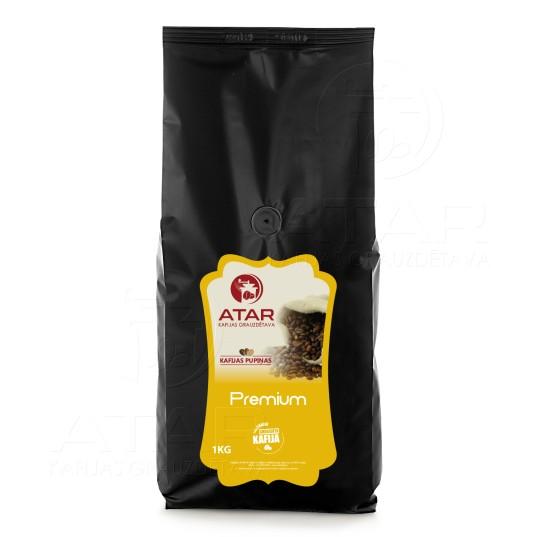 Kafijas pupiņas ATAR PREMIUM | 1 kg ATAR kafijas pupiņas