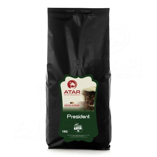 Kafijas pupiņas ATAR PRESIDENT | 1 kg ATAR kafijas pupiņas