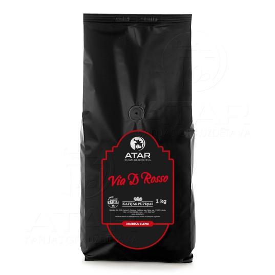 Kafijas pupiņas ATAR VIA D' ROSSO | 1 kg ATAR kafijas pupiņas