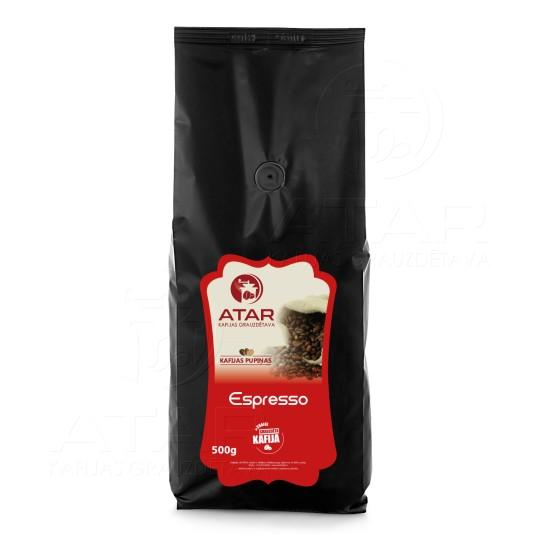 Kafijas pupiņas ATAR ESPRESSO | 500 g ATAR kafijas pupiņas