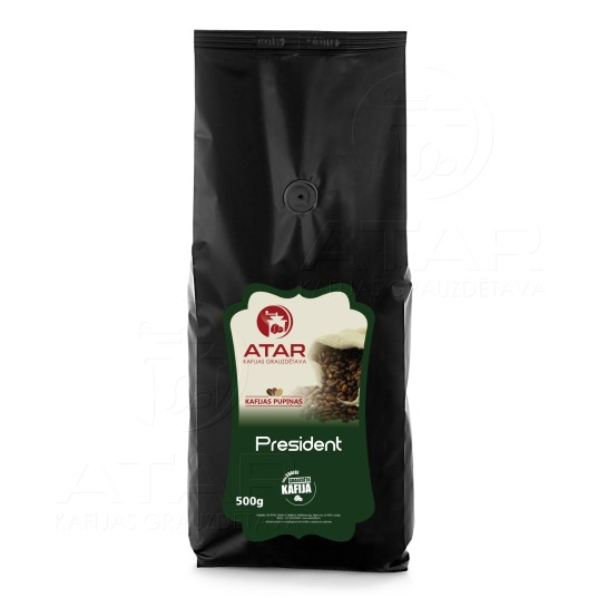 Кофе в зернах ATAR PRESIDENT | 500 г