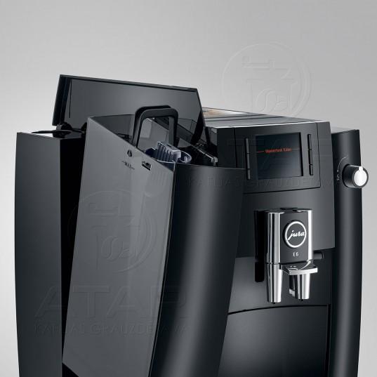 Kafijas automāts JURA E6 (Piano Black) JURA kafijas automāti