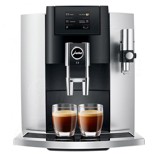 Kafijas automāts JURA E8 Touch (Platinum) | no ekspozīcijas JURA kafijas automāti