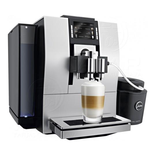 Noma pasākumiem! Kafijas automāts JURA Z6 + piena dzesetājs Kafijas automātu noma
