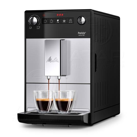 Kafijas automāts MELITTA PURISTA Series 300 (Silver) Kafijas automāti