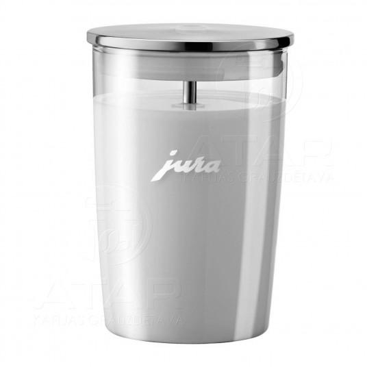 JURA stikla piena tvertne 0.5 l Kafijas automātu piederumi