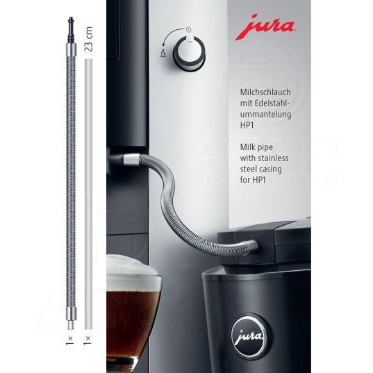 JURA piena caurulīte ar nerūsējošā tērauda apvalku HP1 Kafijas automātu piederumi
