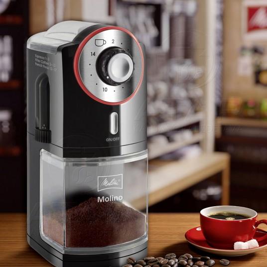 Kafijas dzirnavas MELITTA Molino (Red) Kafijas automātu piederumi