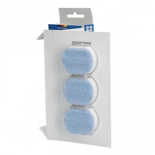 Atkaļķošanas tabletes Siemens & Bosch, 36 g, 3 gab. Kafijas automātu kopšanas līdzekļi