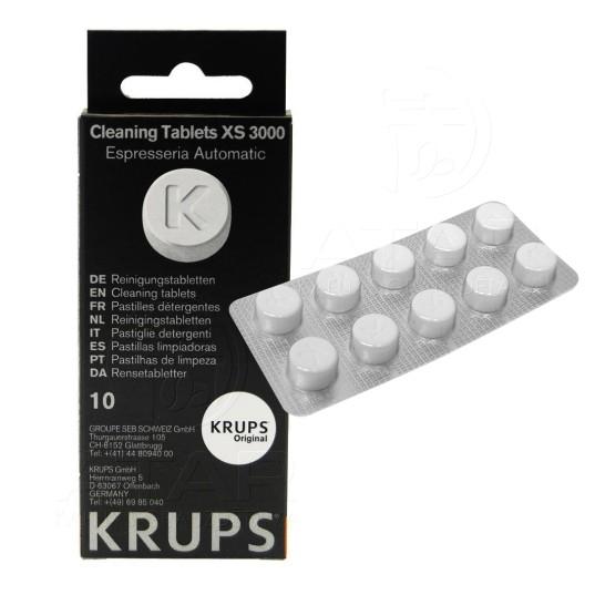 Tīrīšanas tabletes KRUPS XS 3000, 10 gab.