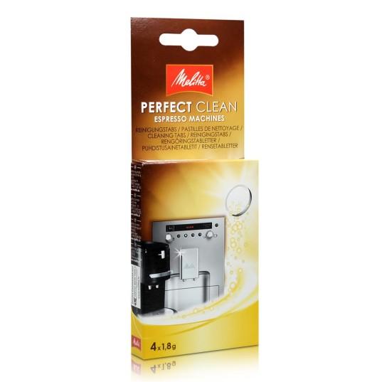 Tīrīšanas tabletes PERFECT CLEAN, 4x1,8 g Kafijas automātu kopšanas līdzekļi