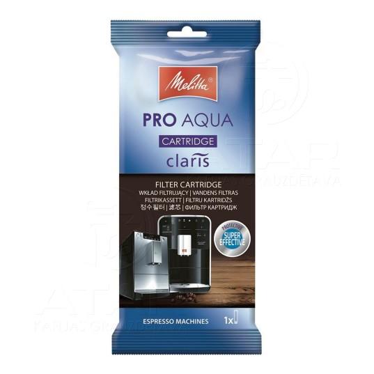 Ūdens filtrs MELITTA CLARIS Pro Aqua Kafijas automātu kopšanas līdzekļi